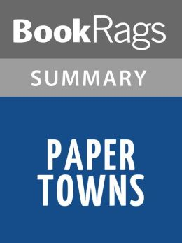 Paper towns short summary book