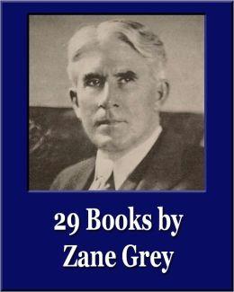 29 Books By Zane Grey Unique Classics Illustrated By