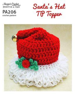 Crochet Santa Toilet Tissue Cover Only New Crochet Patterns