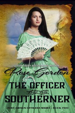 The Officer and the Southerner (Historical Western Romance)