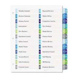 Table of contents avery ready index template 600088 bing for Avery ready index template 31 tab