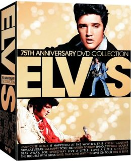 Elvis 75th Anniversary Dvd Collection By Warner Home Video