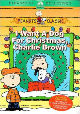 I want a dog for christmas charlie brown book