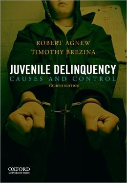 Thesis statement reducing juvenile delinquency