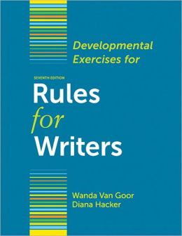 FOR WRITERS DIANA RULES HACKER