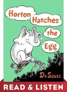 Dr seuss horton hatches the egg book