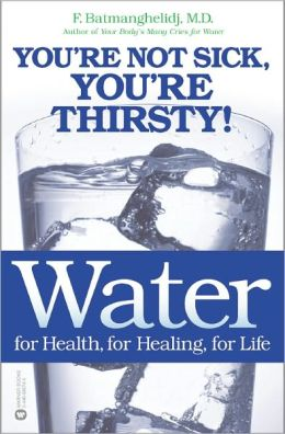 You re not sick you re thirsty book