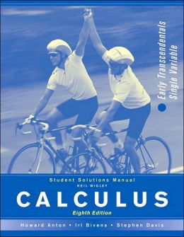 Essential calculus early transcendentals solutions manual