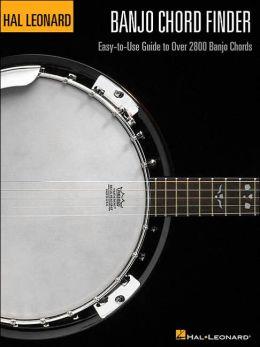 Banjo Chord Finder: Easy-to-Use Guide to Over 2,800 Banjo Chords Hal Leonard Corp.