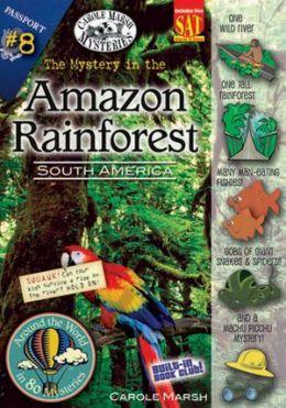Books set in the amazon rainforest