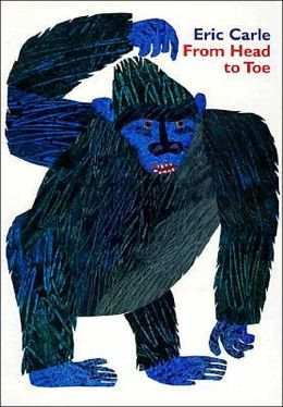 Eric carle books from head to toe