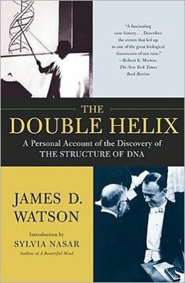 The Double Helix Book by James D. Watson