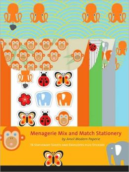 Menagerie Mix and Match Stationery Anvil Modern Paperie