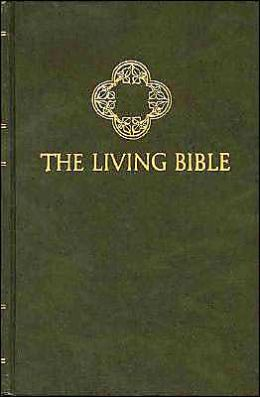 The Living Bible By Tyndale House Publishers border=