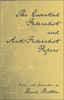 Federalists Vs. Anti-Federalists