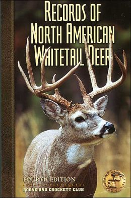 Boone and crockett record book