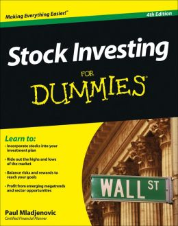 Stock Investing For Canadians For Dummies Cheat Sheet
