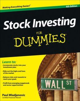Stock investing for dummies reddit