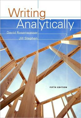 writing analytically with readings custom edition