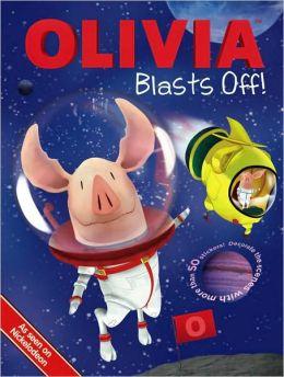 Olivia Blasts Off! (Olivia Series) by Lauryn Silverhardt ...