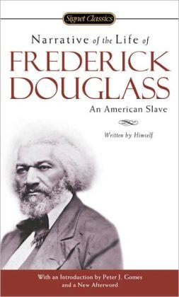 Narrative of the life of frederick douglass literature book