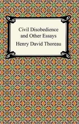 Civil disobedience and other essays online