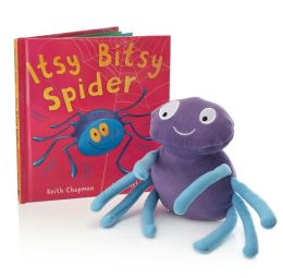Itsy Bitsy Spider  Book and Plush Itsy Bitsy Spider Book