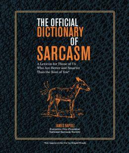 Sarcasm of dictionary pdf
