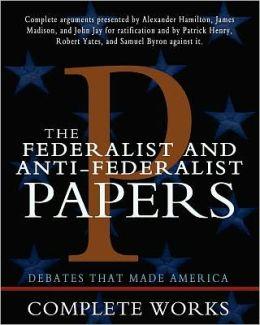 Anti-Federalists Definition