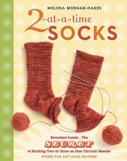 2 at a time socks on 2 circular needles