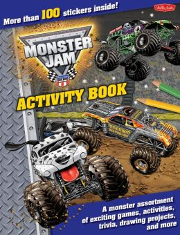 Monster trucks childrens book