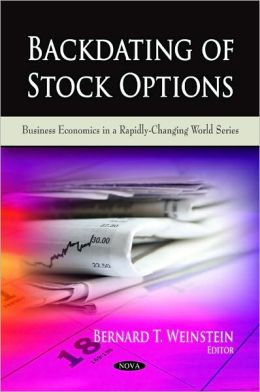 Stock options backdating scandal