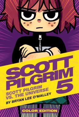 Scott pilgrim comic book set
