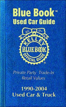 Kelley blue book used cars pre 1990