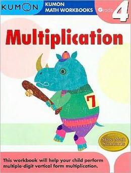 grade 4 multiplication kumon math workbooks by michiko tachimoto 9781933241562 paperback. Black Bedroom Furniture Sets. Home Design Ideas