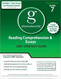 Manhattan reading comprehension and essays