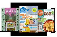 The New Yorker; HGTV Magazine; Food Network Magazine