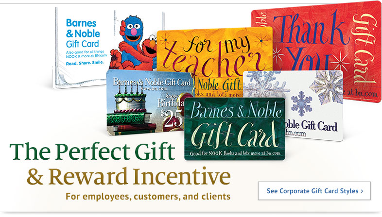 Gift Cards Corporate Sales | Barnes & Noble®