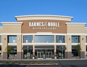 Barnes & Noble Book Store at Menlo Park Mall